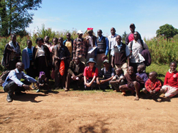 Sustainable tourism trekkers