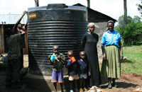 Water tank + family