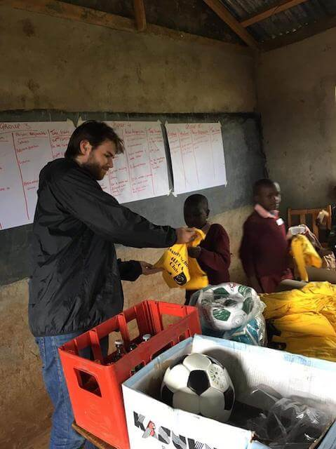One the ground experiences from our Uni student volunteers/2018 June Kevin O Callaghan volunteer in Kenya