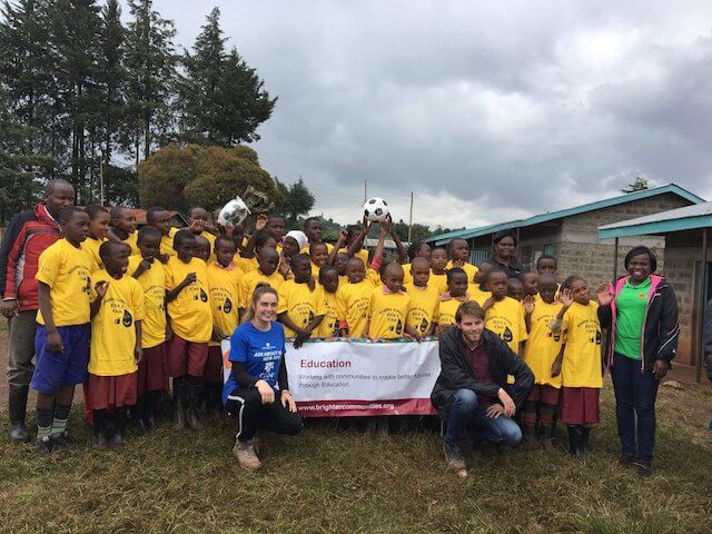 One the ground experiences from our Uni student volunteers/2018 June Kevin & Rachel in Kenya