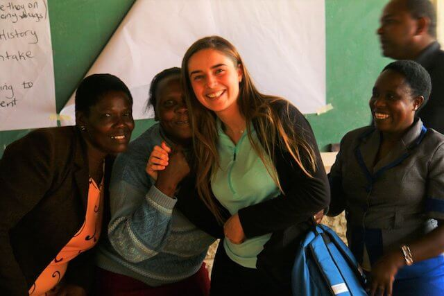 One the ground experiences from our Uni student volunteers/2018 June Rachel Daly in Kenya